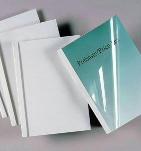 Обложки для термопереплетчика fellowes