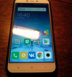 Xiaomi redmi 4x 3/32 золотой