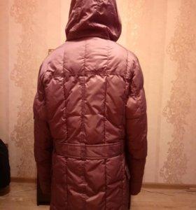 Теплое пальто рост 152