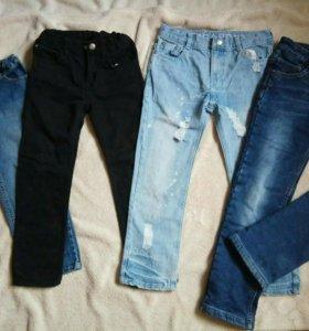 Джинсы и теплые джинсы от 116 до 134