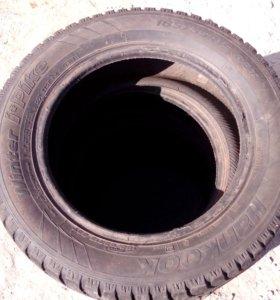 Зимние шипованые шины Hankook