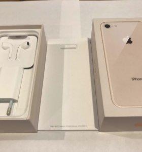 iPhone 8 256 gb gold НОВЫЙ!