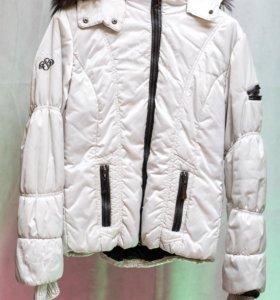 Куртка на девочку осень евро-зима, 44 размер