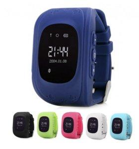 Детские часы с GPS Wonlex SmartBabyWatch Q50 60 80