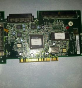 Adaptec AHA-2940W PCI-to-Fast scsi host adapter