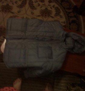 Куртка на рост 134-140