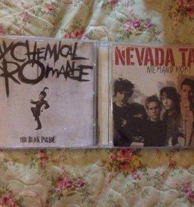 Диски Tokio Hotel,Cristina Aguilera,Nevada Tan