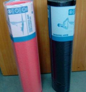 коврики для фитнеса новые