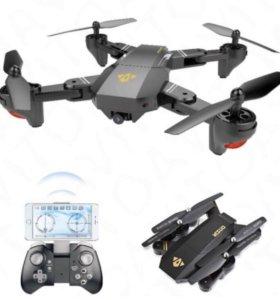Новый Квадрокоптер Дрон visuo XS809HW Камера WiFi