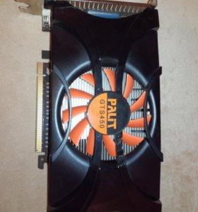 Видеокарта GeForce GTS450 1GB