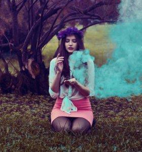 """Шары """"Цветной дым"""" 5-10 сек для фотосессии"""