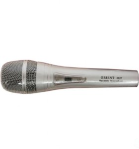Orient M21 0.1-10кГц, 600 Ом, 0.18мВ-75дБ алюминий