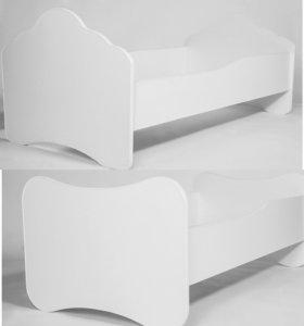 Кровать с матрасом 140см