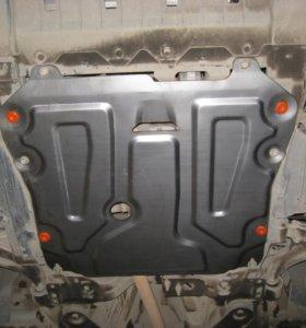Защита картера  Opel Astra J и на Chevrolet Cruze