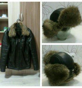 Куртка + шапка