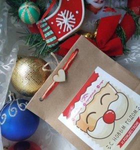 Детские новогодние сладкие подарки