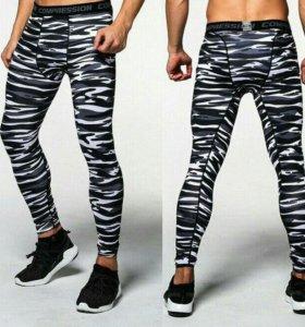 Компрессионные штаны Лосины Леггинсы