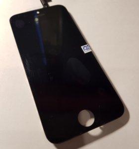 Дисплей iphone 5s/5se черный
