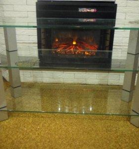 тумба для ТВ из стекла