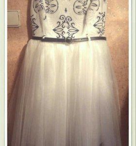 Платье и ободок в подарок😍