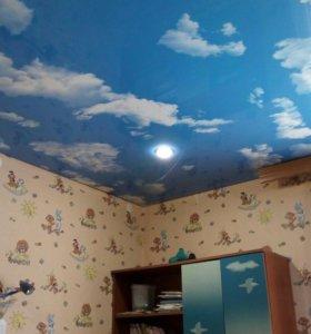 Облака натяжной потолок