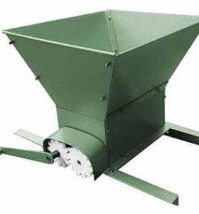Дробилка механическая для винограда 100-300кг/час.