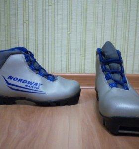 Ботинки для беговых лыж (детские)
