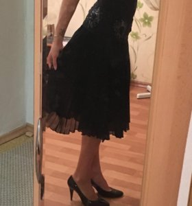 Шелковая брэндовая юбка BGN