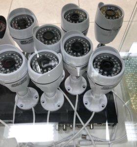 Комплект видеонаблюдения 8 камер!!!НОВЫЙ!!!