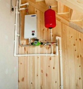 Отопление, водоснабжение в частный дом