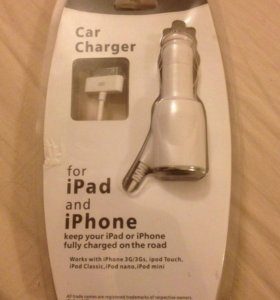 Зарядка iPhone в прикуриватель