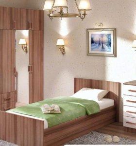 Кровать 90/200 с матрасом!