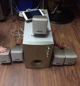 акустика microlab 5:1