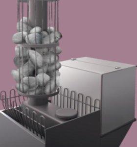 Печь со съемной каменкой.