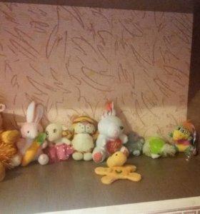 Коллекция мягких игрушек