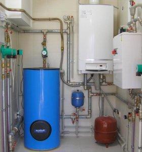 Установка водоснабжения канализации отопления