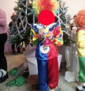 Новогодний костюм Клоун