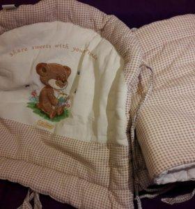 Бортики в детскую кроватку Kids Comfort