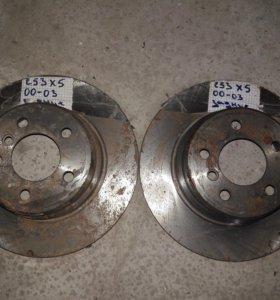 Тормозные диски x5 e53