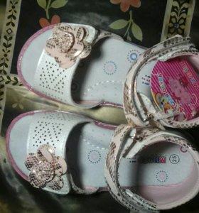 Босоножки детские,ароматизированные для девочки.