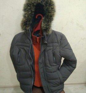 Зимняя куртка на мальчика 10-11 лет