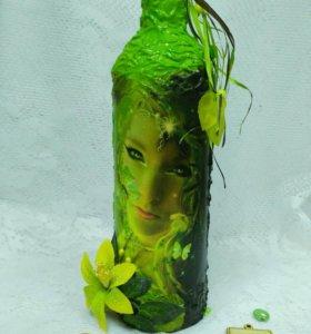 Декоративная бутылка500