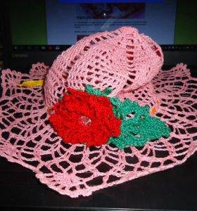 шляпка с полями
