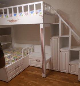 Детские кровати и любая корпусная мебель на заказ