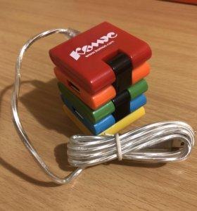 USB HUB на 4 порта
