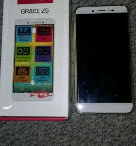 Новогодний подарок! Prestigio Grace Z5 Duo Silver