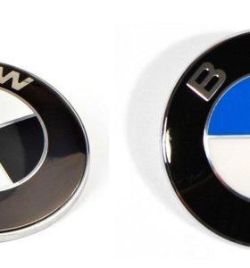 Эмблема на капот, багажник и руль BMW 51148132375