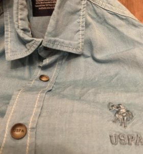 Мужская рубашка U. S. POLO ASSN. Оригинал