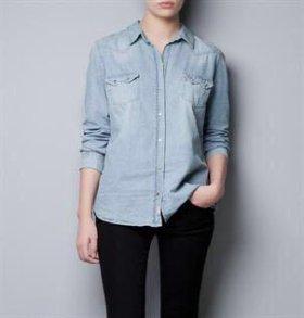 Рубашка 👔 женская Zara