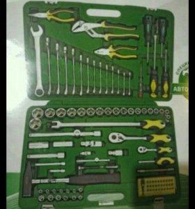 Набор автомобильного инструмента из 104 предметов